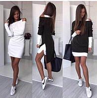 Платье трикотажное+теплое