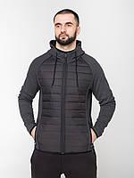 Мужская куртка-ветровка Riccardo VTS Антрацит