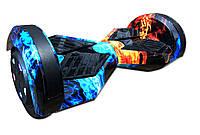 "Гироскутер / Гироборд Smart Balance Elite Lux 8"" Лед и Пламя +Сумка (Гарантия 12 Месяцев)"