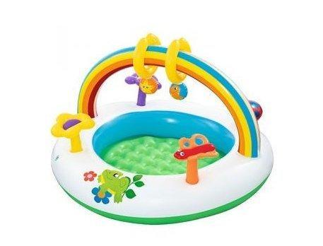 Бассейн Bestway детский 91х56см., арка, игрушки, рем. компл., в кор. 52239 (8)