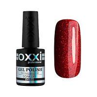 Гель-лак Oxxi Professional №235 красный с микроблеском, 10 мл