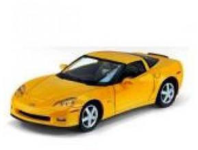 Машина Kinsmart металлич. инерцион. в кор. 1:36 Chevrolet Corvette Z06 2007 KT 5320 W (24)