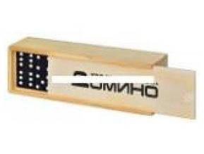 Домино в деревян. кор. 14,5х5х3см. М 0027 (300)