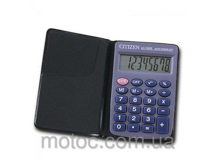 Калькулятор Citizen LC-110 карманный (20)