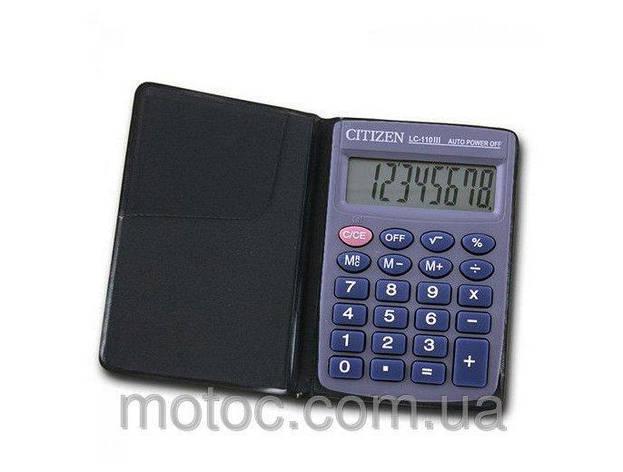 Калькулятор Citizen LC-110 карманный (20), фото 2