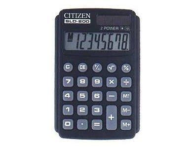 Калькулятор Citizen SLD-200 карманный (20)