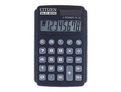 Калькулятор Citizen SLD-200 карманный (20), фото 2
