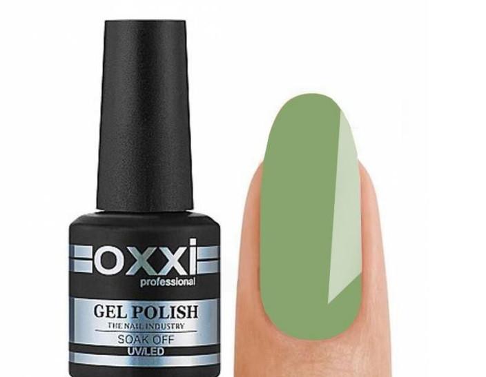 Гель-лак Oxxi Professional №275 светло оливковый, 10 мл