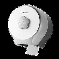 Диспенсер туалетной бумаги Rixo 15,3x14,6x12,5 см Серебряный