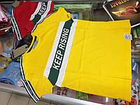 Детская летняя подростковая футболка для мальчика р.164 170