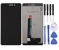 Модуль, дисплей, экран для Nokia 6 2018 / 6.1 SCTA-1043 TA-1045 TA-1050 TA-1054 TA-1068 (черный)