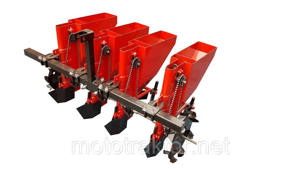 Чеснокосажалка для мототрактора 4-х рядная ЧСН-4