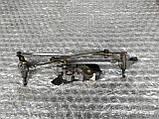 Механизм стеклоочистителя (трапеция дворников) Рено Меган 2 б/у, фото 2