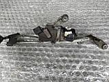 Механизм стеклоочистителя (трапеция дворников) Рено Меган 2 б/у, фото 3