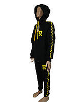 .Детский спортивный костюм.Реплика OFF WITE черный.146Костюм для подростка