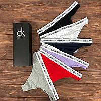 Calvin Klein 365 стринги подарочный набор женских трусов из 5 шт