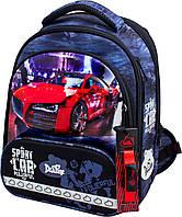 Рюкзак школьный каркасный ортопедический для мальчика Delune 9-129 сумка для сменки и пенал 28 х16 х36 см, фото 1