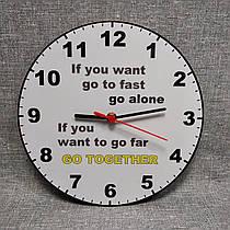 Настенные часы для кабинета английского языка. Мудрость