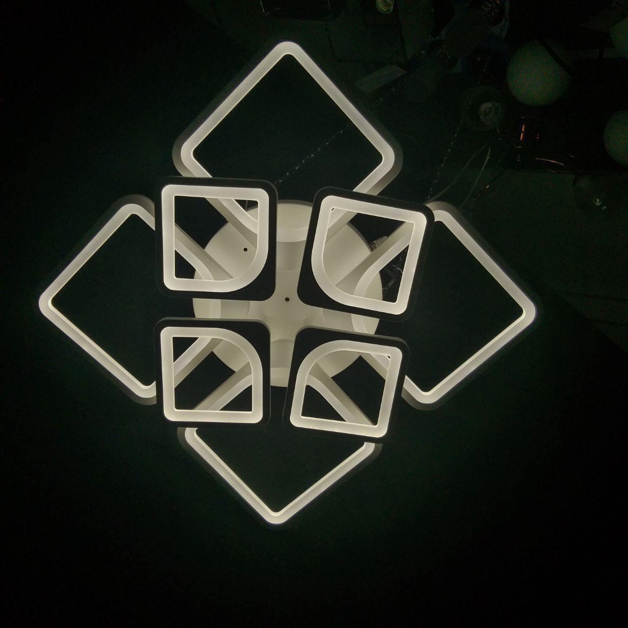 Люстра LED потолочная XZ-8064/4+4 136W+136W(1шт)