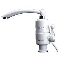 Кран - бойлер (Проточный водонагреватель Delimano кран смеситель Делимано) (Нижнее подключение)