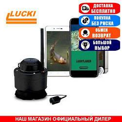 Подводная видеокамера Lucky FF3309 c WI-FI. Беспроводная. Обзор 120°. Локация 7м. Цвет. (Видеоудочка Лаки ФФ3309);
