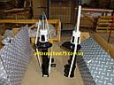 Амортизаторы Chevrolet Lacetti задние , комплект 2 штуки, газовые (производитель Rider, Венгрия), фото 4