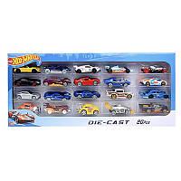 Набор машинок игрушечных Hot Wheels 698-20