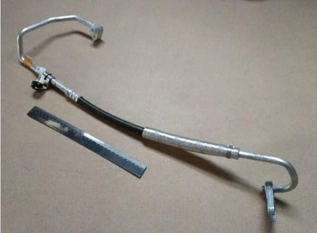 Трубка от компрессора к радиатору Авео 1.6 GM 96802197