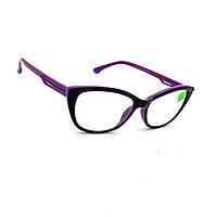 Коригуючі окуляри з прозорою лінзою скла 573 рмц 62-64