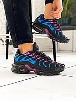 Кроссовки женские Nike Air max Tn+ черные, фото 1