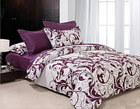 Комплект постельного белья евро ранфорс 100% хлопок. Постільна білизна. (арт.6886)