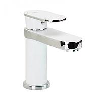 Змішувач для раковини з гайкою білий / хром Gappo Furai G1019-8