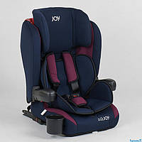 Автокресло детское Joy 72583 система ISOFIX сине-малиновое