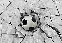 Фотошпалери Футбольний м'яч 3D №22128