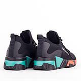 Женские модные кроссовки Lonza YY3508 BLACK осень, фото 2