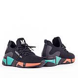 Женские модные кроссовки Lonza YY3508 BLACK осень, фото 3