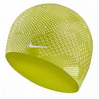 Шапочка для плавання Nike Optic Camo Silicone Жовтий