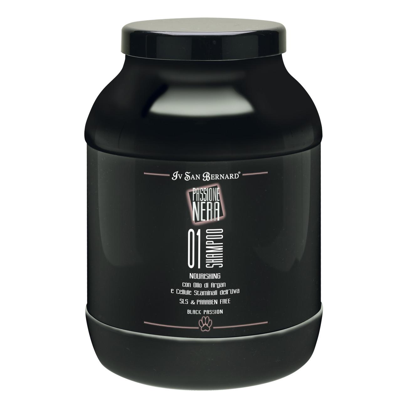 1 Шампунь Iv San Bernard 01 Nourishing, защитное и очищающее действие, с маслом Арганы, 3л