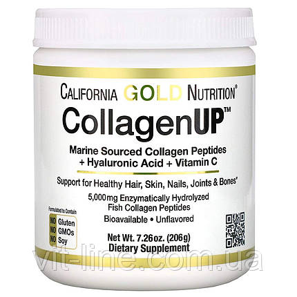 Коллаген California Gold Nutrition, CollagenUP™ 5000,, фото 2