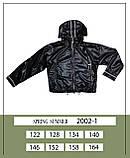Курточка ветровка, черный, Моне, р.146, 152, фото 5