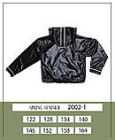 Курточка ветровка, черный, Моне, р.146, 152, фото 6