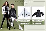 Курточка ветровка, черный, Моне, р.146, 152, фото 4