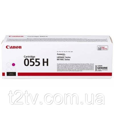 Картридж Canon 055H Magenta 5.9K (3018C002)