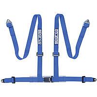 Ремни безопасности SPARCO 04604BV1AZ  4-х точечные BV1 синие, фото 1