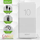 [ОПТ] Портативная батарея Power bank GOLF G80 Candy 10000mAh, фото 10
