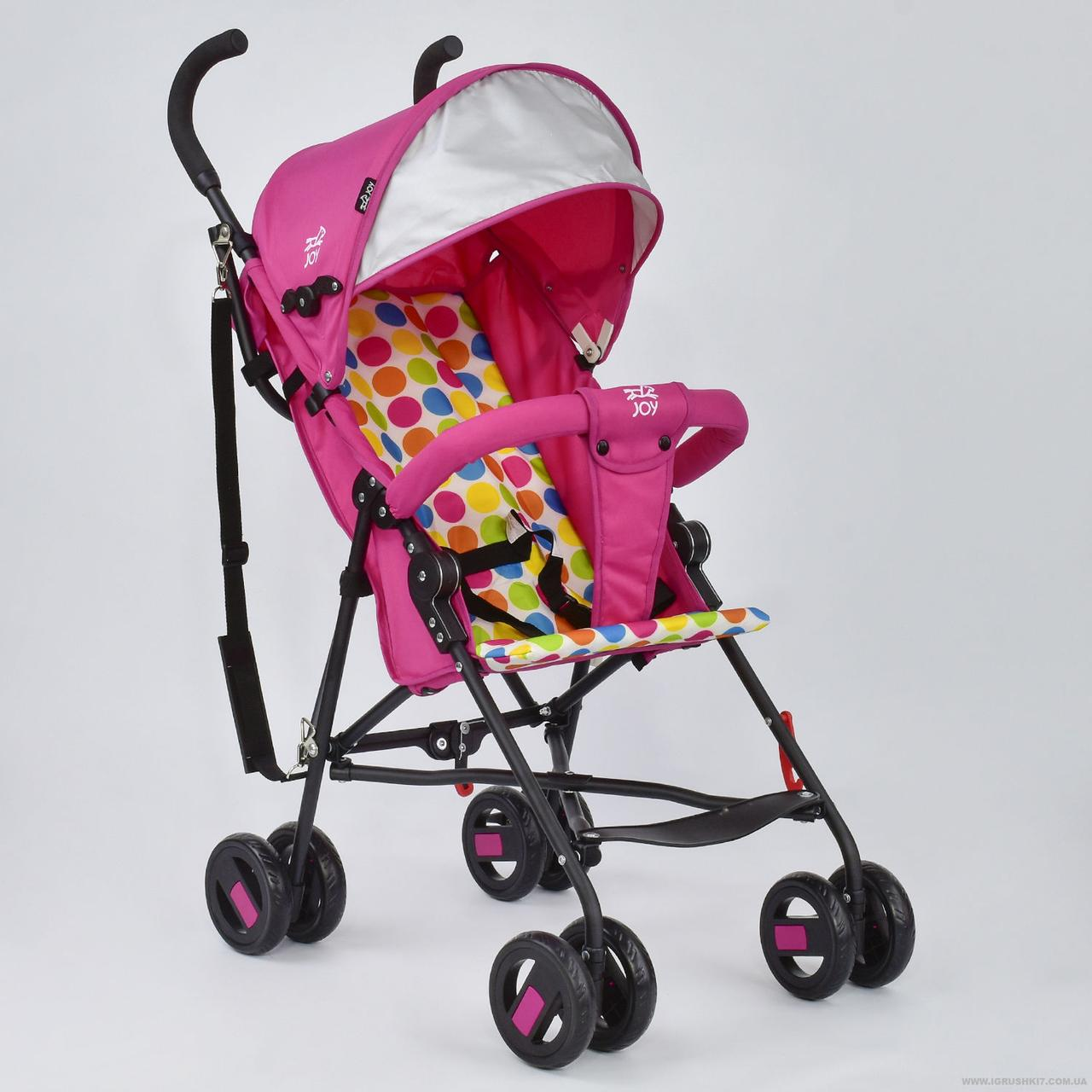 Коляска прогулочная Joy S 108 T розовая