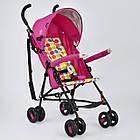 Коляска прогулочная Joy S 108 T розовая, фото 3