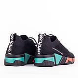 Женские легкие кроссовки Lonza YY8885 BLACK/RED, фото 2