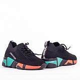Женские легкие кроссовки Lonza YY8885 BLACK/RED, фото 3