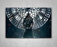Картина на холсте подарок для геймера Ассасин Крид Assassin's Creed 60х40, фото 1